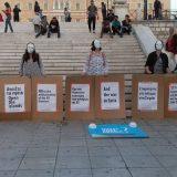 Αντιπολεμικό κλίμα χτες στην πλατεία Συντάγματος